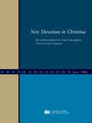 New Directions in Christina - Accomplishments for Children, Chal