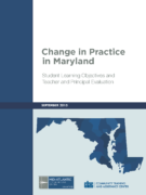 Change in Practice in MD-2015